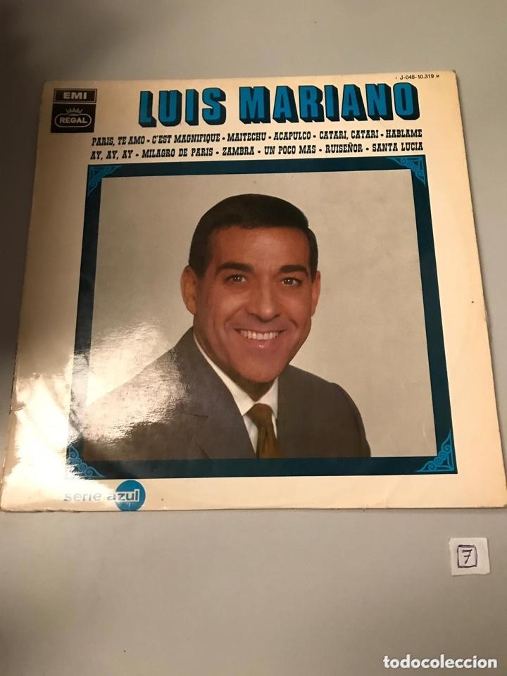 LUIS MARIANO (Música - Discos de Vinilo - EPs - Flamenco, Canción española y Cuplé)