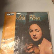 Discos de vinilo: LOLA FLORES. Lote 173857385