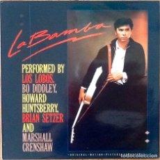 Discos de vinilo: LOS LOBOS : BSO LA BAMBA [ESP 1987] LP. Lote 195368302