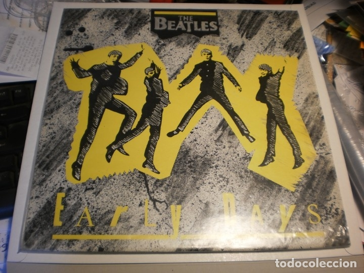 LP PROMOCIONAL THE BEATLES. EARLY DAYS. AARON RECORDS 1987 ENGLAND (NUNCA EN TC, SEMINUEVO) (Música - Discos - LP Vinilo - Pop - Rock Extranjero de los 50 y 60)