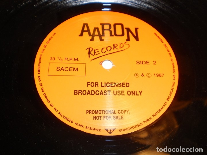 Discos de vinilo: lp promocional the beatles. early days. aaron records 1987 england (nunca en tc, seminuevo) - Foto 4 - 173861870