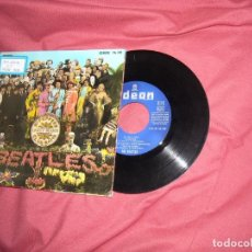 Discos de vinilo: THE BEATLES EP WITH A LITTLE HELP FROM MY FRIENDS +3 -1968 SPA. Lote 173862059