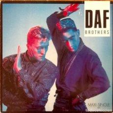 Discos de vinilo: D.A.F. : BROTHERS [DEU 1985] 12'. Lote 173862158