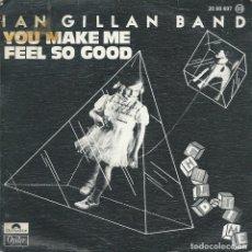 Discos de vinilo: IAN GILLAN BAND, YOU MAKE ME... (POLYDOR 1978). Lote 173867883