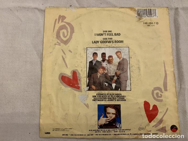 Discos de vinilo: Simply Red – I Won't Feel Bad Sello: WEA – 248 056-7 Formato: Vinyl, 7 , 45 RPM, Single País: Fr - Foto 2 - 173868247