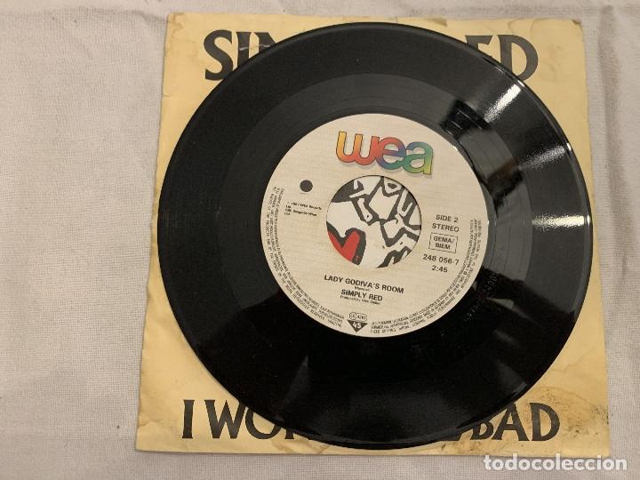 Discos de vinilo: Simply Red – I Won't Feel Bad Sello: WEA – 248 056-7 Formato: Vinyl, 7 , 45 RPM, Single País: Fr - Foto 3 - 173868247