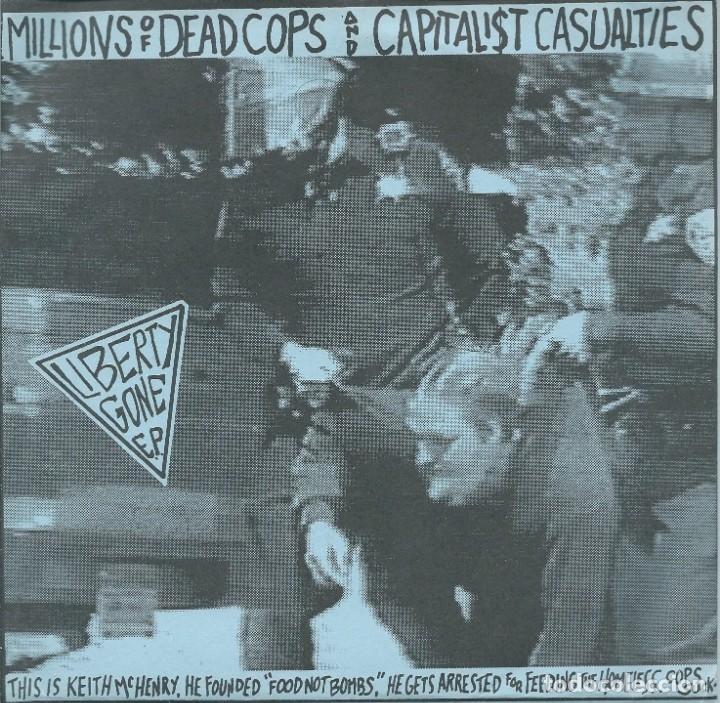M.D.C. - CAPITALIST CASUALITES. EP COMPARTIDO (SLAP A HAM 1994) -HOJA INTERIOR- (Música - Discos - Singles Vinilo - Punk - Hard Core)