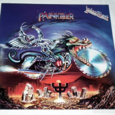 Discos de vinilo: LP JUDAS PRIEST - PAINKILLER. Lote 173868994