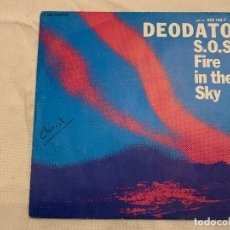 Discos de vinilo: DEODATO* ‎– S.O.S. FIRE IN THE SKY SELLO: WARNER BROS. RECORDS ‎– 929 148-7 FORMATO: VINYL, 7 . Lote 173869012