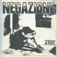 Discos de vinilo: NEGAZIONE - TUTTI PAZZI. EP COMPARTIDO (AUTOPRODUCIDO 1985) -GATEFOLD DESPLEGABLE-. Lote 173869177