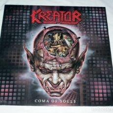 Discos de vinilo: LP KREATOR - COMA OF SOULS . Lote 173869185