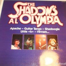 Discos de vinilo: LP THE SHADOWS AL OLYMPIA. MFP 1979 FRANCE (DISCO PROBAD Y BIEN, MUY BUEN ESTADO). Lote 173869339