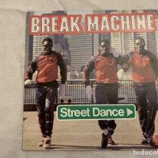 Discos de vinilo: BREAK MACHINE – STREET DANCE SELLO: BLACK SCORPIO – SCM 1241 FORMATO: VINYL, 7 , 45 RPM, SINGLE . Lote 173870029