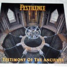 Discos de vinilo: LP PESTILENCE - TESTIMONY OF THE ANCIENTS . Lote 173870037