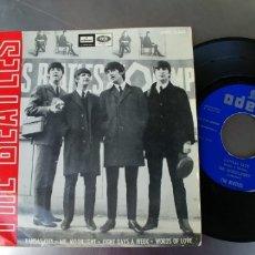 Disques de vinyle: THE BEATLES-EP KANSAS CITY +3. Lote 173844317