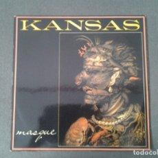 Discos de vinilo: KANSAS -MASCARA- LP EPIC 1977 ED. ESPAÑOLA EPC 81180 MUY BUENAS CONDICIONES.. Lote 173873674