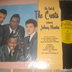 Discos de vinilo: THE CRESTS (THE BEST OF) FEATURING JOHNNY MAESTRO (RHINO 1990)OG USA MASTERS DOO WOP. Lote 173878797