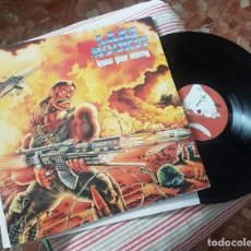 Discos de vinilo: LAAZ ROCKIT. KNOW YOUR ENEMY, MUSIC FOR NATIONS, UK 1987 LP. Lote 173879140