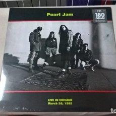 Discos de vinilo: MUSICA LP: PEARL JAM - LIVE CHICAGO 1992. EDICION 2015. PRECINTADO (G). Lote 173879832
