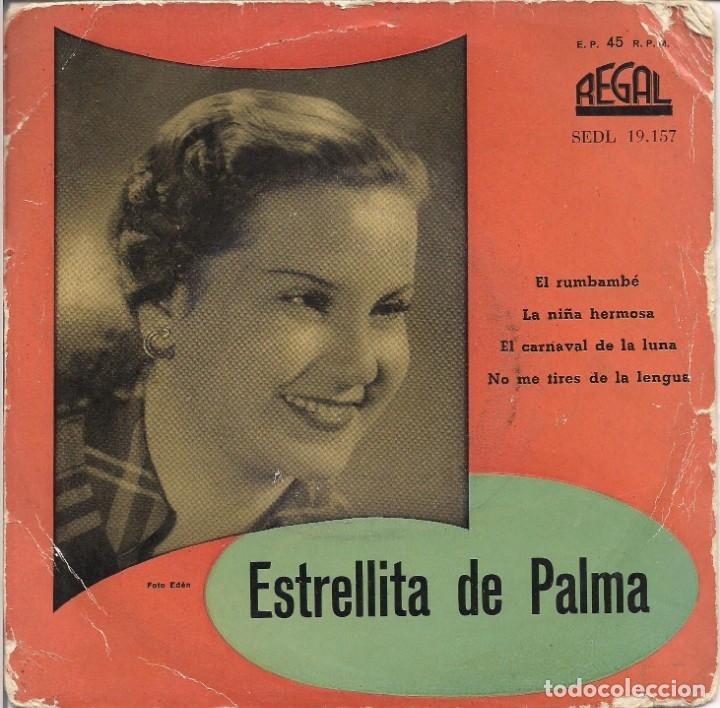 """ESTRELLITA DE PALMA (""""EL RUMBAMBÉ"""" Y OTRAS) (Música - Discos de Vinilo - EPs - Flamenco, Canción española y Cuplé)"""