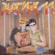 Discos de vinilo: MAX MIX 11 - KIM APPLEBY + TECHNOTRONIC + PKA + VANILLA + 2 IN A ROOM + BIZARRE INC ..LP DOBLE 1991. Lote 173881814