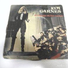 Discos de vinilo: SINGLE. KIM CARNES. EL DIBUJO DE LAS CARTAS. 1981. EMI AMERICA RECORDS. Lote 173894009