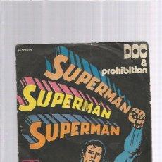 Disques de vinyle: DOC PROHIBITION SUPERMAN. Lote 173895992