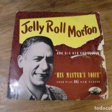 Discos de vinilo: JELLY ROLL MORTON AND HIS RED HOT PEPPERS - JELLY ROLL MORTON AND HIS RED HOT PEPPERS (10'', COMP) . Lote 173897402