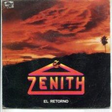 Discos de vinilo: ZENITH / EL RETORNO / DIMELO (SINGLE 1988). Lote 173901722