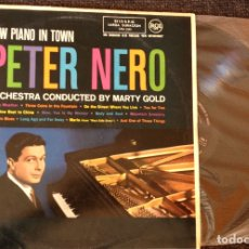 Discos de vinilo: ORCHESTRA CONDUCTED BY MARTY GOLD. - PETER NERO.. Lote 173688635