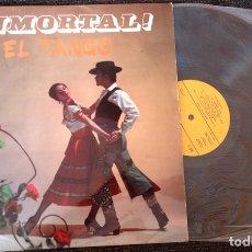 Discos de vinilo: !INMORTAL! EL TANGO.. Lote 173688650
