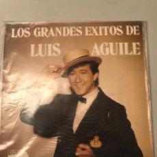 Discos de vinilo: LOS GRANDES ÉXITOS DE LUIS AGUILE. Lote 173920975