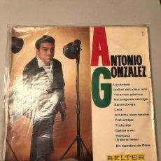 Discos de vinilo: ANTONIO GONZÁLEZ. Lote 173921240