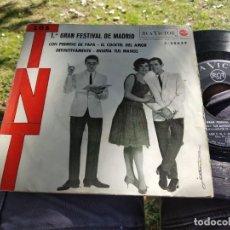 Discos de vinilo: EP LOS TNT CON PERMISO DE PAPÁ BUEN ESTADO. Lote 173923363