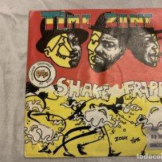 Discos de vinilo: TIME ZONE – SHAKE FRAPPÉ SELLO: ARIOLA – 109 264 FORMATO: VINYL, 7 PAÍS: FRANCE FECHA: 1987 GÉNE. Lote 173925543