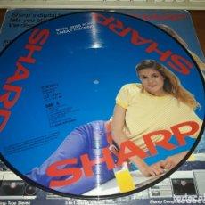 Discos de vinilo: RARISSIMO LP PICTURE DE SHARP. DISCO HITS. U.S. DISCO EXPLOSIÓN. EDICIÓN JAPONESA PROMO 1982. Lote 173929193