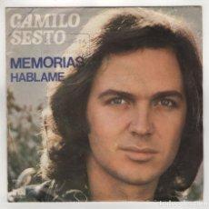 Discos de vinilo: CAMILO SESTO. Lote 173929373