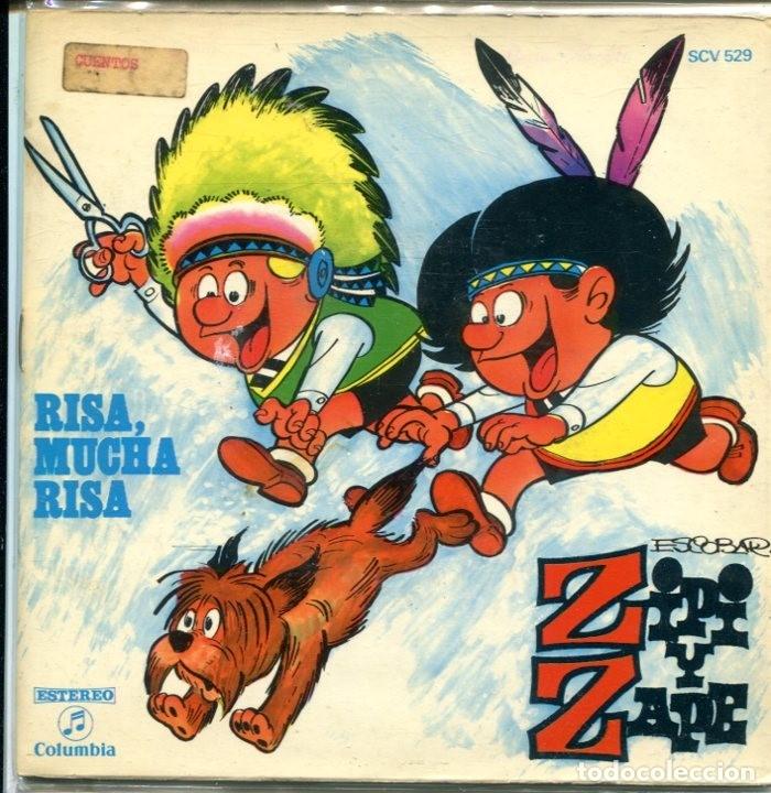 ZIPI Y ZAPE / RISA, MUCHA RISA (9,42) EP CON LIBRETO 1971 (Música - Discos de Vinilo - EPs - Música Infantil)