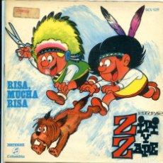 Discos de vinilo: ZIPI Y ZAPE / RISA, MUCHA RISA (9,42) EP CON LIBRETO 1971. Lote 173931278