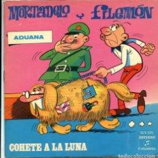Dischi in vinile: MORTADELO Y FILEMON / COHETE A LA LUNA (11,35) EP CON LIBRETO 1971. Lote 173931385