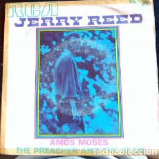 Discos de vinilo: AMOS MOSES/THE PREACHER AND THE BEAR. - JERRY REED.. Lote 173702207
