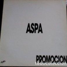 Discos de vinilo: ASPA. PROMOCION. - PATT GOVERNA.. Lote 173706633