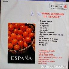Discos de vinilo: RITMO Y CANCIONES DE ESPAÑA. LP.. Lote 173706740