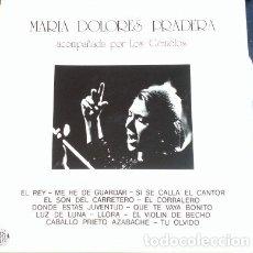 Discos de vinilo: MARIA DOLORES PRADERA ACOMPAÑADA POR LOS GEMELOS. LP.. Lote 173706750