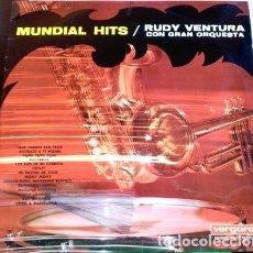 Discos de vinilo: MUNDIAL HITS. LP. - RUDY VENTURA CON GRAN ORQUESTA.. Lote 173706760