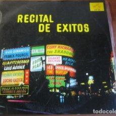Discos de vinilo: VVAA - RECITAL DE ÉXITOS **** PRIMERA REFERENCIA BEATLES ESPAÑA 1963. Lote 173941215
