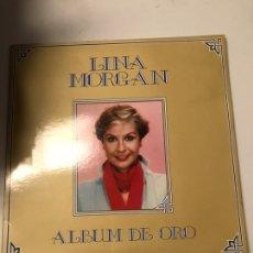 Discos de vinilo: LINA MORGAN --ALBUM DE ORO- RCA- AÑO 1981. Lote 173942732