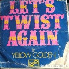 Discos de vinilo: LETS TWIST AGAIN. - GOLDEN, YELLOW.. Lote 173704039