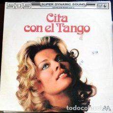 Discos de vinilo: CITA CON EL TANGO. LP. - THE TOKYO CUBAN BOYS PLUS GUEST STARS.. Lote 173706688