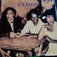 Discos de vinilo: CAMBIO. - LUCIO DALLA.. Lote 173706745